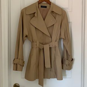 Searle Short Trench Coat